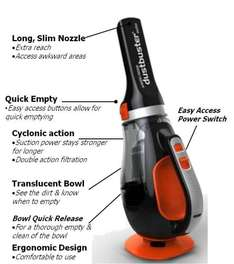 Black Decker 12v Autovac car vacuum £14.50 ( was £29.00) click and collect @ Tesco Direct.
