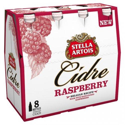 Stella Artois Cidre Raspberry 8x330ml only £5.00 at Tesco see 1st post for price comparison.