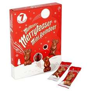 Malteasers Merryteaser Mini Reindeer pack of 7 £1 @ Tesco