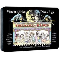 Theatre of Blood Starring Vincent Price - Steelbook Edition Blu-ray - £9.99 on Zavvi