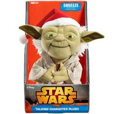 STAR WARS YODA CHRISTMAS EDITION PLUS ONLY 4.96 AT TOYS R US ONLINEEE!!!!