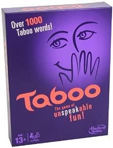 Taboo Board Game 8.49 @ Amazon