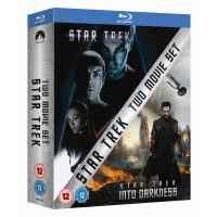 Star Trek/Star Trek Into Darkness Blu Ray £6.49 Using Code XMAS5 @ Rakuten UK(Entertainment Store)