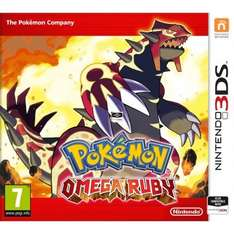 Pokémon Alpha Sapphire / Omega Ruby (Nintendo 3DS) £26.95 Each Delivered @ TheGameCollection