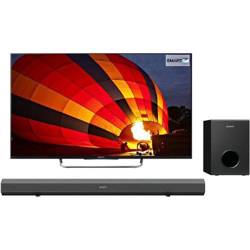 Sony KDL50W829B 50-inch Widescreen Full HD 1080p 3D Smart TV with Sony HT-CT60BT Soundbar £729.00 @ Amazon