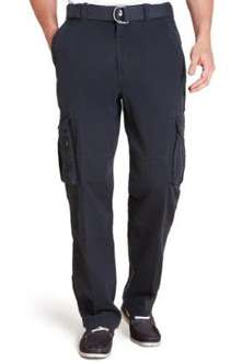 North Coast Utility Pure Cotton Straight Fit Cargo Trousers Was £39.50 Now £7.99 UK standard delivery within 3-5 days £3.50