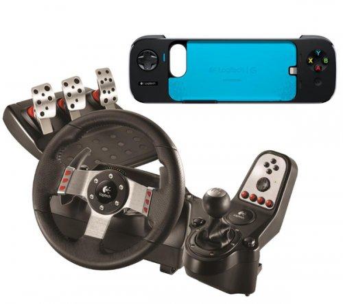 Logitech G27 Steering Wheel + Free Powershell Game Controller £149.79 @ PC World