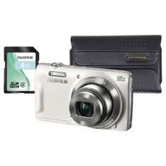 "Fuji T500 Digital Camera Kit, White, 16MP, 12x Optical Zoom, 2.7"" Screen Size, Includes Carry Case & SD Card£69 @ Tesco Direct"