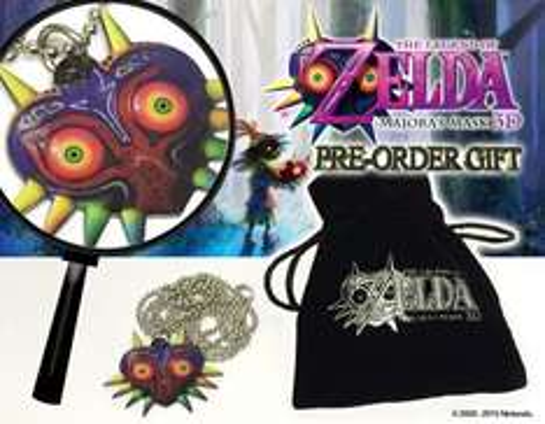 Free necklace preorder bonus with The Legend of Zelda: Majora's Mask @ shopto - £32.86