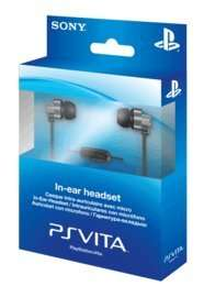 PS Vita In Ear Headset £5 Delivered @ GAME (PS4 Compatible)