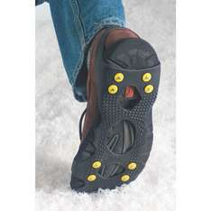 Ice Traction Shoes Grips Size 7½-10½ - £16.99 down to £1.99 @ screwfix