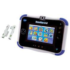Innotab 3S pink or blue including £10 app voucher and recharge pack - £39.99 + £3 delivery John Lewis online