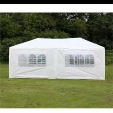 Palm Springs 10' x 20' Party Tent Marquee w/ Sides £69.99 @ thesportshq