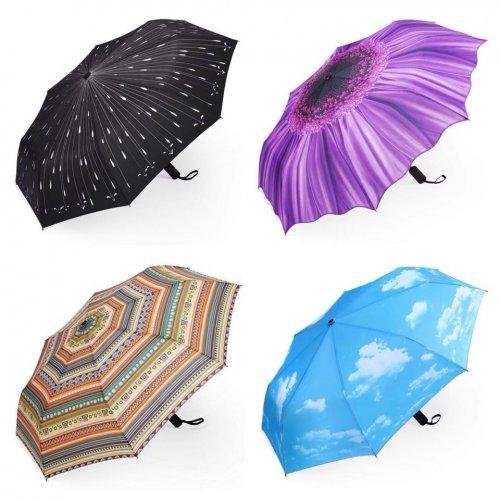 PLEMO Automatic Folding Umbrella £12.99 @ Amazon