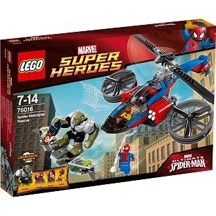 LEGO® Spider Helicopter Rescue - 76016. £31.49 @ Argos