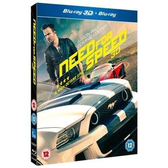 Need for Speed 3D + 2D Blu-Ray £5.08 at Rakuten.co.uk [Zoverstocks] using code XMAS5