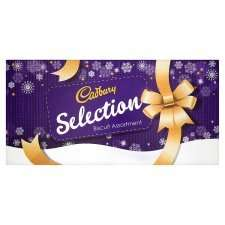 cadburys selection biscuits 500g was£5.00 reduced to £4, scanning £1.50 @ Tesco