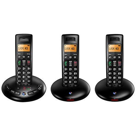BT Trio Digital Cordless Phone BT3710 with Answer Machine £37.49 @ Sainsbury's