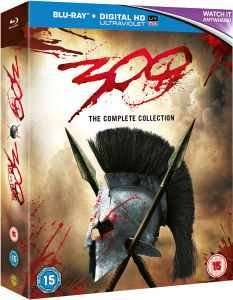 300 / 300: Rise of an Empire Double Pack [Blu-ray+HD UltraViolet] £8.99 in store @ That's Entertainment