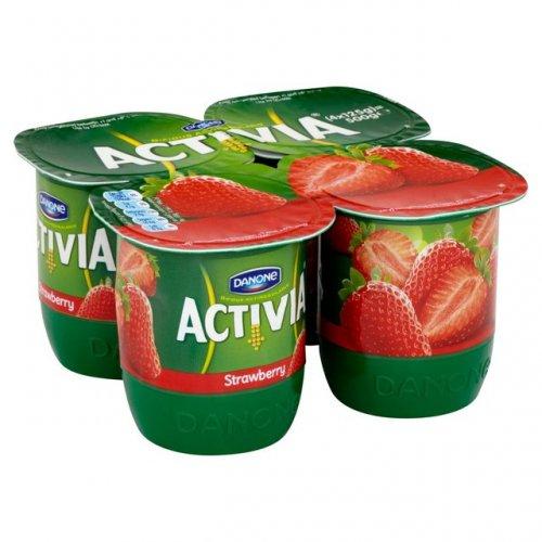 Activia Strawberry Yogurts 4 x 125g was £1.99 NOW 99p @ morrisons