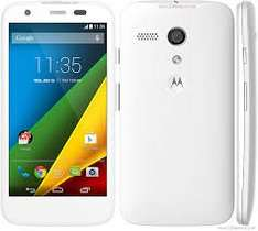 Moto G 4G white or black 500 mins, 5000 texts, 500mb  24 month contract - Tesco Mobile £13.50 per month