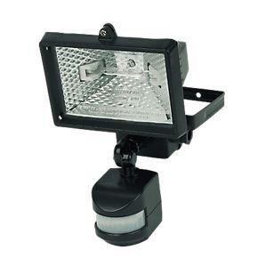 Floodlight PIR Photocell Black 220-240V 120W 2250Lm £3.20 @ screwfix