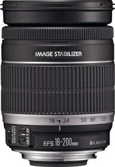 Canon Ef-s 18-200MM F/3.5-5.6 Is Camera Lens £279.99 @ Argos Outlet on eBay