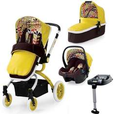 Cosatto Ooba 3-in-1 Travel System Includes Pushchair, Carrycot, Car Seat, IsoFix Base, Apron & Raincover! £557.55 @ preciouslittleone