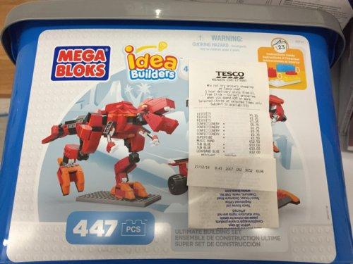 Mega Blocks Idea Builders Tubs 401 pieces ***Instore Tesco*** £10