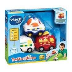 Vtech Toot Toot Drivers 3 pack Emergency Vehicles £7.50 at Tesco instore