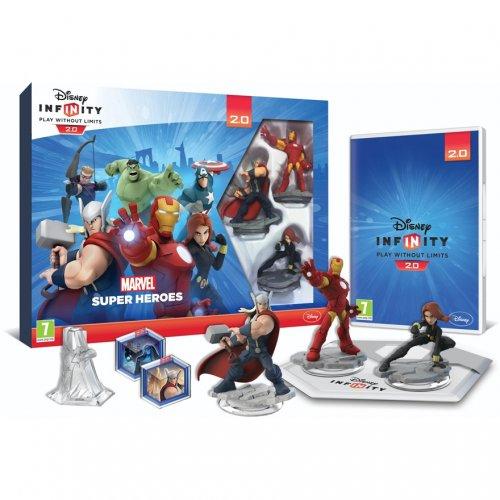 Disney infinity 2.0 Mavel starter pack playstation 4 and Xbox one £34.99 @ Smyths toys