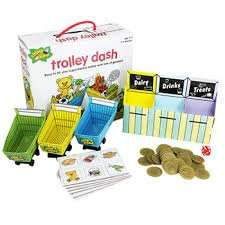 Chimp & Zee Trolley Dash Game £2 Delivered @ The Works (£11 @ Amazon) Plus More Games...