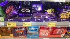Cadbury various chocolate bags £1 @ Tesco