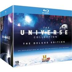 (Blu Ray) The Universe Collection - Deluxe Edition (19 Discs) - £26.99 With Code - Zavvi