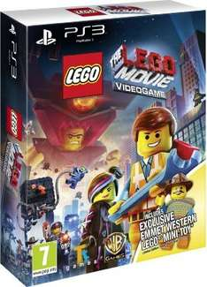 The LEGO Movie Videogame - Western Emmet Minitoy Edition (PS3) £16.34 Delivered @ Amazon