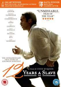 12 Years a Slave on DVD £4.99 with free delivery @ Zavvi