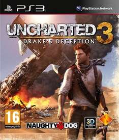 Uncharted 3 drake's deception (PS3) + Faster BluRay £3.00 @ CEX