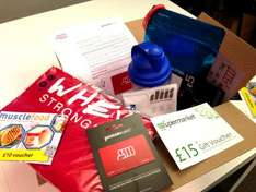Protein card £98 of freebies with £30 Pro membership