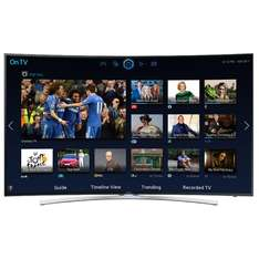 SAMSUNG UE55H8000   Series 8 Full HD 1080p Smart 3D Curved LED TV with Built-In Wi-Fi, Freeview HD & Freesat HD  £1099 @ rgbdirect