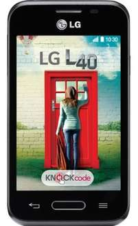 LG L40 12m half price line rental & double data, other selected handsets available Online Only for Double Data @ TalkTalk Mobile