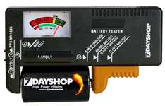 7dayshop SALE - Battery Tester NOW £2.79...
