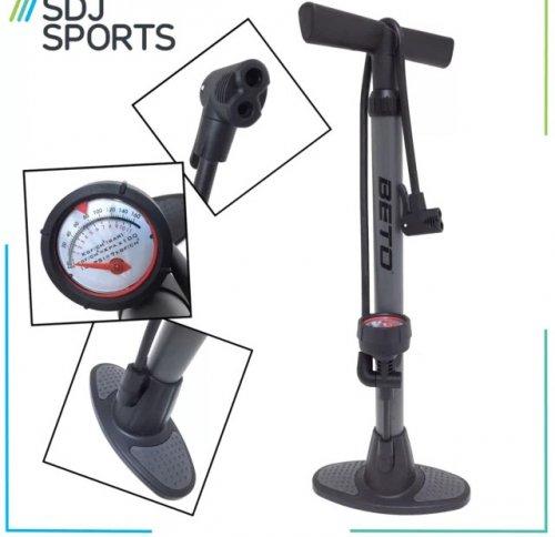 BETO 160PSI Floor standing bike pump £9.95 @ ebay / sdj-sports