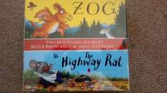 Julia Donaldson Board books - The Highway Rat & Zog (double pack) £3 in store at Tesco