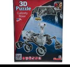 Mars Curiosity Rover 3D Puzzle was £14.99 now £1.83 Amazon add on item