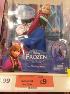 Disney Frozen Ice Skating Doll £9 @ Sainsbury's