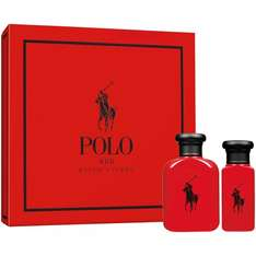 Ralph Lauren Polo Red Eau De Toilette Gift Set 105 ML £27.39 @ degruchys