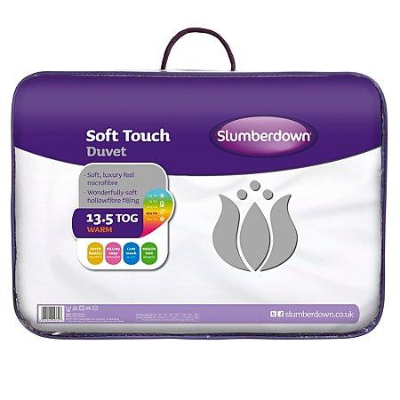 Slumberdown Soft Touch Duvet - 13.5 Tog - half price £12 @ Asda Direct