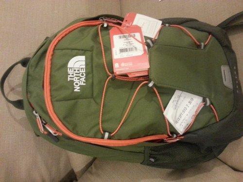 The North Face 'Jester' olive laptop backpack £25 (50% off) at Blacks