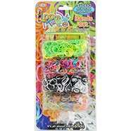 Packs of Loom Bands from The Works from only 10p (Online) and free delivery