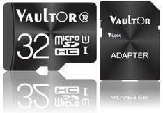 VAULTOR 32GB CLASS 10 UHS-1 EXTREME MICRO SDHC PRO MEMORY CARD - 70MB/S READ, £9.39 delivered @ Spector Media / ebay